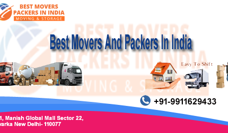 Best Packers and Movers in India | Call Now 9911629433